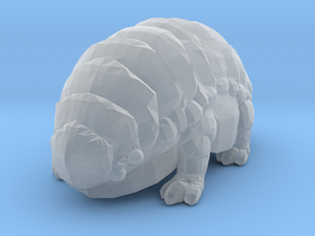 Fluffy The Alien Armadillo in Smooth Fine Detail Plastic