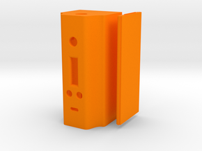 BoxMod DNA200 GenAce1300 v4.7.5 in Orange Processed Versatile Plastic