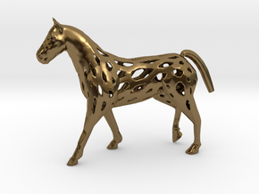 Horse in Polished Bronze