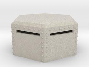 15mm Hex Bunker in Natural Sandstone