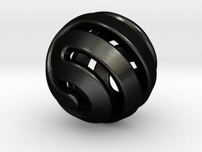 Ball-11-4 in Matte Black Steel