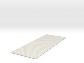 P-165w-topping-sheet-w-1a in White Natural Versatile Plastic