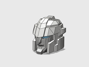 Blocky Driller's Head in Frosted Ultra Detail