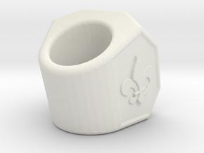Neckercheif3.2 in White Strong & Flexible