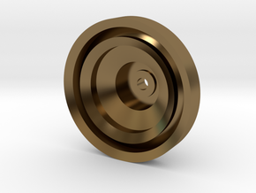 Yo-yo in Polished Bronze