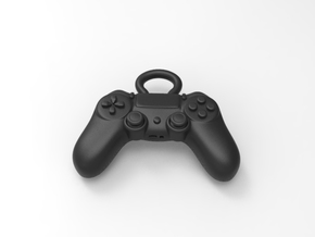 PS4 Controller Pendant  in Black Natural Versatile Plastic