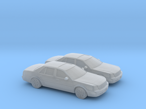 1/160 2X 2000 Cadillac DTS in Smooth Fine Detail Plastic