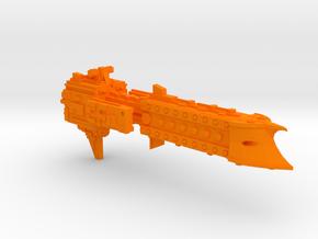 'BFG' Terran Scimitar Class Escort Ship in Orange Processed Versatile Plastic