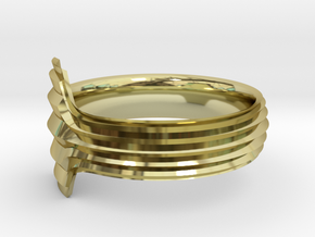 New Ring Design  in 18k Gold