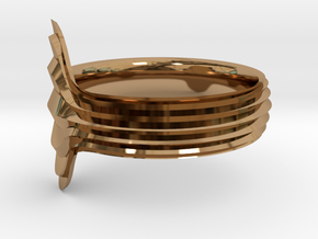 New Ring Design  in Polished Brass