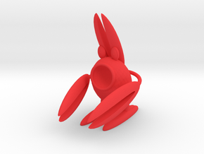 Lobsterbunny in Red Strong & Flexible Polished