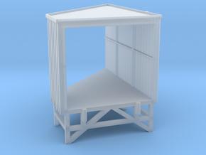 N Angular Dockshelter Right in Smooth Fine Detail Plastic