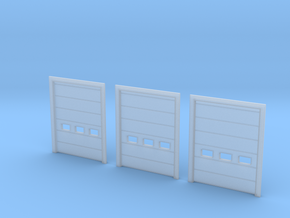 N Scale Overhead Door 3pc in Smooth Fine Detail Plastic
