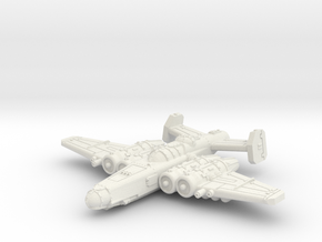 Fighterbomber in White Natural Versatile Plastic