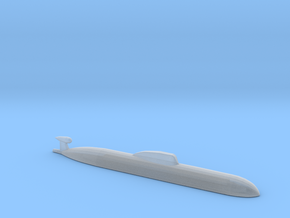 Akula SSN, 1/2400 for FUD in Smooth Fine Detail Plastic
