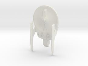 Soyuz Class B   2.5in in White Natural Versatile Plastic
