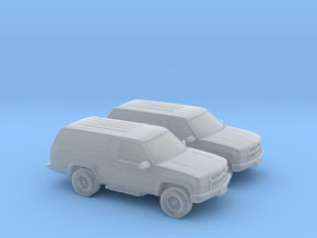 1/160 2X 1999 Chevrolet Blazer in Smooth Fine Detail Plastic