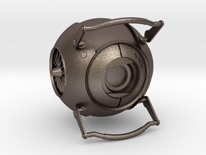 Wheatley from Portal 2 in Polished Bronzed Silver Steel