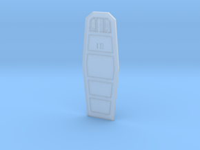 YT1300 DEAGO HALL DOOR  in Smooth Fine Detail Plastic