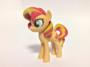 Sunset Shimmer  in Full Color Sandstone
