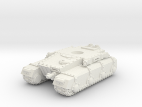 Irontank Chassis in White Natural Versatile Plastic