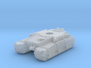 Irontank Chassis in Smooth Fine Detail Plastic