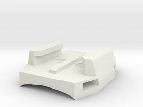 Copy Of Gopro Zip Mount  Screw Mount (1) in White Natural Versatile Plastic