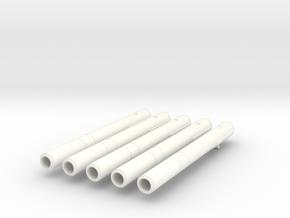 1-72 Type 93 Torpedo BOW in White Processed Versatile Plastic
