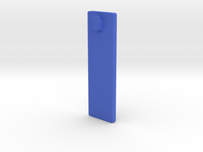 Frame Hanger for Posters and Pictures in Blue Processed Versatile Plastic