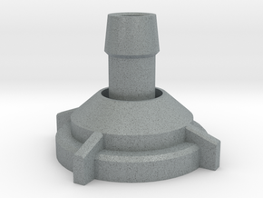 Stationary Mortar in Polished Metallic Plastic