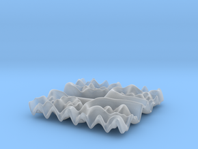Mathematical Function 2 in Smooth Fine Detail Plastic