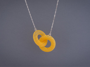 Motif Necklace #02 in Yellow Strong & Flexible Polished