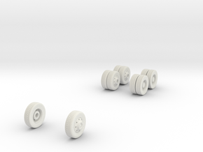 wheels (repaired) in White Natural Versatile Plastic