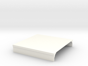 Platform section (100mm wide) in White Strong & Flexible Polished