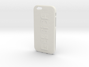 Iphone 6 Cover in White Natural Versatile Plastic
