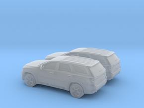 1/160 2X 2011 Dodge Durango in Smooth Fine Detail Plastic