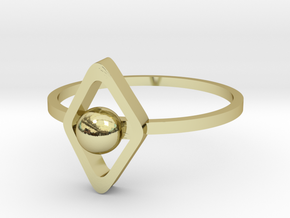 Yumi collection - size 6 US in 18k Gold