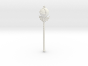 SM Cutie Rod: Wand SD 1/3 Doll Size in White Natural Versatile Plastic