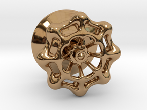 Valve-styled Dimmer Knob in Polished Brass