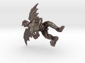 little political flying devils in Polished Bronzed Silver Steel