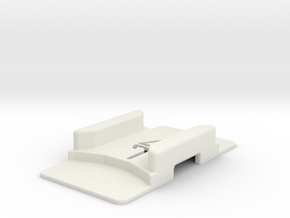ZMR-250 Case Holder (No Foam) in White Natural Versatile Plastic