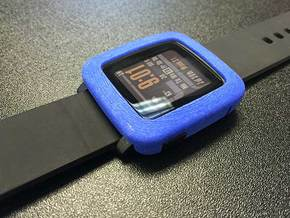 Pebble Time - Bumper in Blue Processed Versatile Plastic