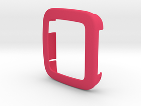 Pebble Time - Bumper in Pink Strong & Flexible Polished