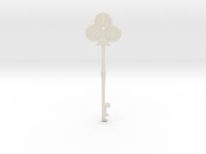 Resident Evil 2: Club key in White Acrylic