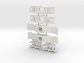 RDIRNAtlO100tRB - Realistic Atlas P48 Bolster in White Natural Versatile Plastic