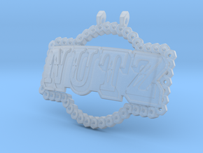 Camp NuTz in Smooth Fine Detail Plastic