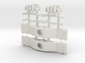 APM70tRB - Realistic P48 Conv Bolster 70ton RB in White Natural Versatile Plastic
