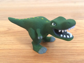 T. Rex Figure in Full Color Sandstone