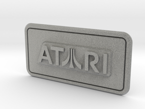Atari Coin Door Tag (Over/Under) in Metallic Plastic