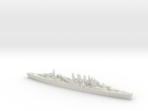 1/1800 HMS Norfolk [1942] in White Natural Versatile Plastic
